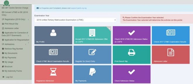 HOW TO CHECK JAMB ADMISSION STATUS [QUICK GUIDE]