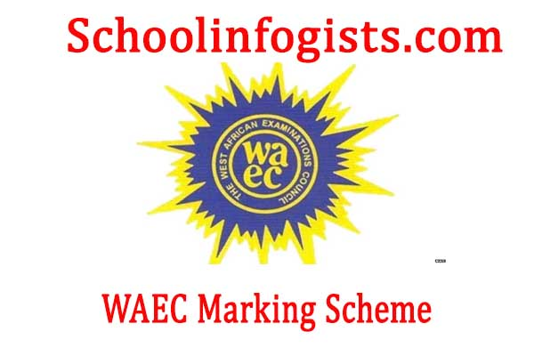 WAEC marking guide for all subject