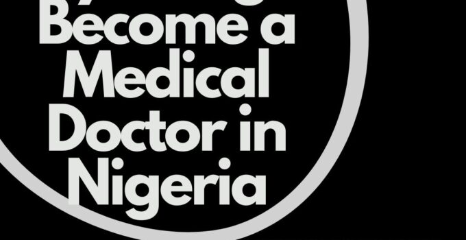 Can a Physiologist Become a Medical Doctor in Nigeria