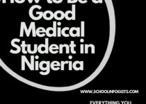 How to Be a Good Medical Student in Nigeria