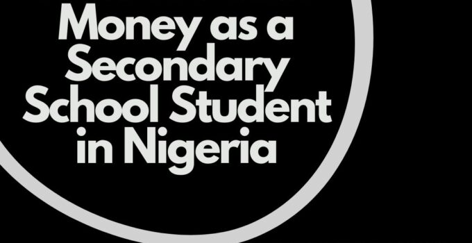 How to Make Money as a Secondary School Student in Nigeria