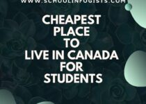 Cheapest Place to Live in Canada for Students