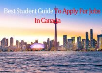 apply fo job in canada as a student